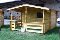 Bilder-Holzhütte