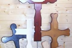 Bilder-Grabmale-Holz-Kreuze