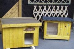 Bilder-Hundehütte-und-Kaninchenstall