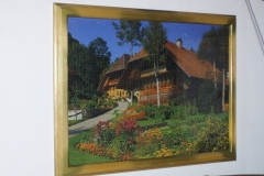 Puzzle-Schwarzwaldhaus