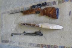 Kolben-luftgewehr