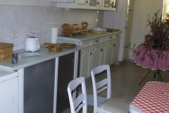 Küche-Lochwand